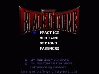 Blackthorne (32X)